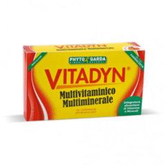 PHYTO GARDA Vitadyn Multivitamico e Multiminerale integratore alimentare utile per le difese immunitarie e per la capacità visiva 30 compresse