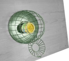 Gebr. De Boon Pindakaaspothouder Vogelvoederhuisje - Groen - 35 cm x 35 cm x 30 cm