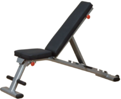 Grijze Body-Solid Body Solid Folding multi bench l trainingsbank
