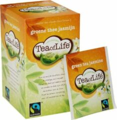 Tea of life groen tea jasmine 80 x 2 gr
