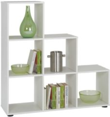 FD Furniture Open Boekenkast Mega 6 - Wit