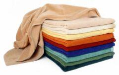 Katoenen deken (bio) lilac Yogablok YOGISTAR