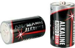 Ansmann Alkaline Mono D Batterien, 1,5 Volt, besonders lange Lebensdauer, 2 Stück