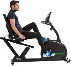 Zwarte Tunturi Competence F20R Comfortfiets - Recumbent Bike