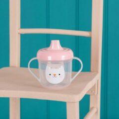 Roze Rex London - Drinkbekertje - Cookie de Kat