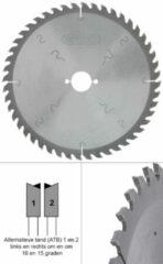 Spero 255mm hout TCT zaagblad 48 tands - asgat 30mm