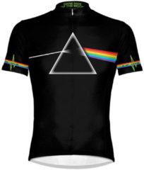 Witte Primal Pink Floyd Dark Side of the Moon Short Sleeve Jersey - S - Black/White/Multi