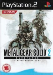 Konami Metal Gear Solid 2 Substance Game PS2