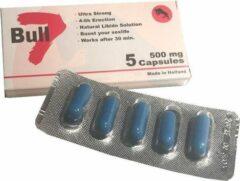 Camagra Bull 7 - Extra Sterk - Nieuwe formule van de bekende erectiepil - 5 erectiepillen