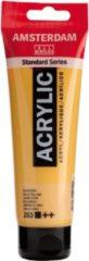 Royal Talens Amsterdam Standard acrylverf tube 120ml - 253 - Goudgeel - dekkend