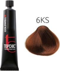 Goldwell - Topchic - 6KS Zwartgeblakerd Koper Zilver - 60 ml