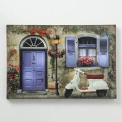 Boltze Home Schilderij Muret 1LED H40cm