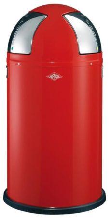 Afbeelding van Rode Wesco Afvalemmers Wesco Push Two Rood, 50 ltr (2x25 ltr)