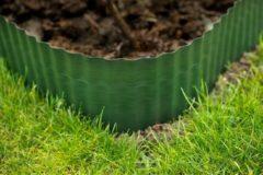 Nature Grasrand pe groen - 25 cm x 9 meter