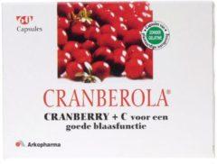 Cranberola Cranberry + C - 60 Capsules - Voedingssupplement