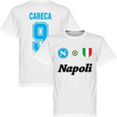 Retake Napoli Careca 9 Team T-Shirt - Wit - XXXL