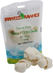 Farm Food Rawhide Dental Bone Rund - Hondensnacks - 50 g