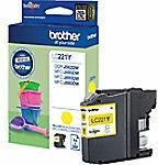 Brother LC221Y Origineel Inktcartridge Geel