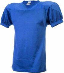 MM American Football Jersey - Royal Blauw - Large