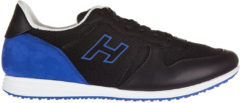 Nero Hogan Scarpe sneakers uomo in pelle h205 olympia h flock