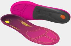Superfeet Run Comfort Inlegzool Hardlopen Dames Donkerroze