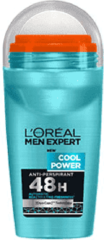 L'Oréal Paris Men Expert L'Oréal Men Expert Cool Power Deodorant - 50 ml - Roller