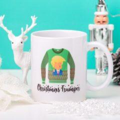 Groene Nutcrackers Mok Christmas Trumper
