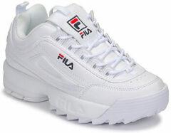 Witte Fila Disruptor sneaker valt klein - maat 41 - White