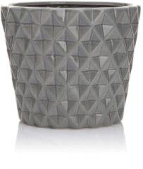 HSE24 Keramiktopf mit Struktur - Grau