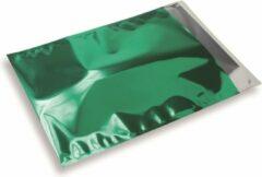 Snazzybag glimmende envelop - A4/C4 - Groen - per 100 stuks