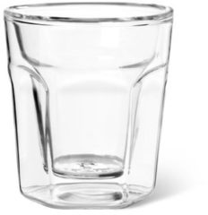 Transparante Leopold Vienna dubbelwandige espressoglazen - 10 cl - 2 stuks