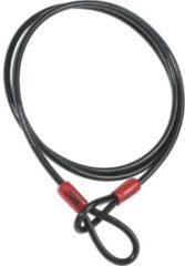 ABUS - Kabelschloss Cobra - Fietsslot maat 1 cm x 200 cm, zwart/grijs