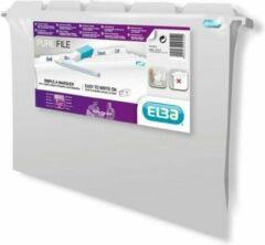 Witte Hamelin ELBA Pure White hangmappen - Pak van 5 stuks