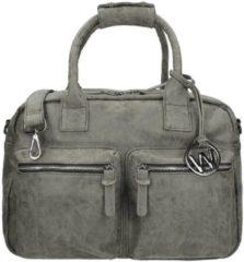 Grijze Wimona Alessia - school / werk 14 inch laptoptas - westernbag - grijs