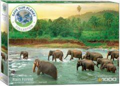 Eurographics Save the planet Rainforest - Regenwoud. Puzzel. 1000 stukjes