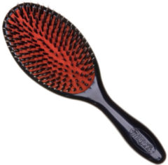 Zwarte Denman - Large Porcupine-Style Grooming Brush - D81L