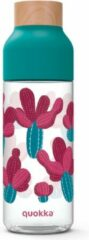 Blauwe Quokka drinkfles Tritan Ice Nature 720 ml turquoise