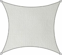 Livin' outdoor Schaduwdoek - HDPE - Vierkant - 3,6 m - Wit