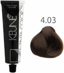Keune - Tinta Color - 4.03 Middel Mocca Bruin - 60 ml