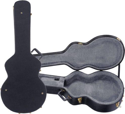 Afbeelding van Gretsch G6241FT Hollow Flat Top gitaarkoffer 16 inch zwart