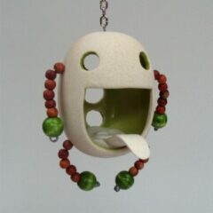 Tok-tok.nl Houder keramiek groen waxinelichtje/wierook