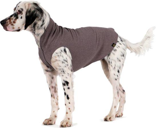 Afbeelding van GoldPaw Series Goldpaw - Stretch Fleece hondenjas - Grijze pullover - maat 24 - grote maten