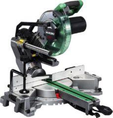 HiKOKI (Hitachi) Hikoki afkortzaag C8FSHGWAZ, diamer zaagblad 216mm, asgat 30mm, 1100W, met laser, incluesief zaagblad