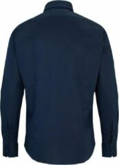 Blauwe Trussardi Heren Overhemd L