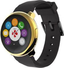 MYKRONOZ ZeRound Smartwatch goldgelb-schwarz