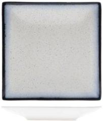 Blauwe Cosy&Trendy Andromeda Dinerbord 20x20cm Vierkant (set van 6) En Yourkitchen E-kookboek - Heerlijke Smulrecepten