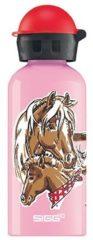 SIGG - Alutrinkflasche Kids - Drinkfles maat 0,4 l, roze