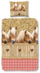 Kinderbettwäsche, Good Morning, »Haflinger«, mit Pferdemotiven