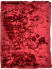 Disena Rood vloerkleed - 70x140 cm - Effen - Modern