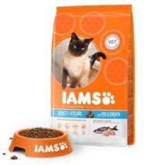 Iams Cat Adult Zeevis - Kattenvoer - 10 kg - Kattenvoer